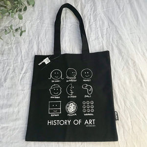 🆕 MoMA — History of Art Tote Bag Black White NWT